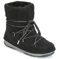 Παπούτσια Γυναίκα Snow boots Moon Boot LOW SUEDE WP Black