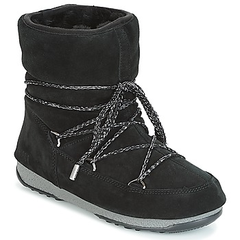 b59f60e9c1b Παπούτσια Γυναίκα Snow boots Moon Boot LOW SUEDE WP Black