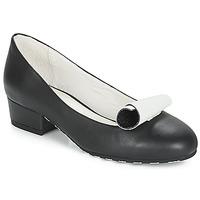 Παπούτσια Γυναίκα Μπαλαρίνες Lola Ramona ALICE Black / Άσπρο
