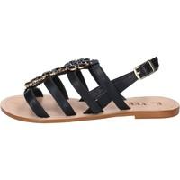 Παπούτσια Γυναίκα Σανδάλια / Πέδιλα E...vee BY184 Μαύρος