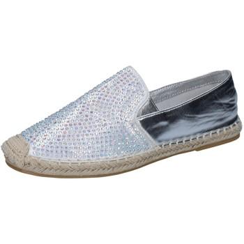 Παπούτσια Γυναίκα Μοκασσίνια Sara Lopez Αθλητικά BY241 Ασήμι