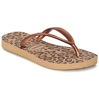 Παπούτσια Κορίτσι Σαγιονάρες Havaianas SLIM ANIMALS Bronze