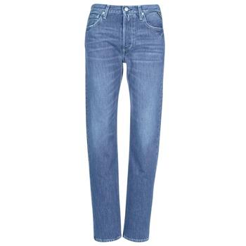 Υφασμάτινα Γυναίκα Boyfriend jeans Replay ALEXIS Μπλέ / 009