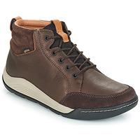 Παπούτσια Άνδρας Ψηλά Sneakers Clarks ASHCOMBE Brown