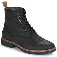 Παπούτσια Άνδρας Μπότες Clarks BATCOMBE LORD Black