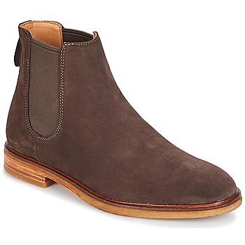 Παπούτσια Άνδρας Μπότες Clarks Clarkdale Gobi Dark / Καφέ / Suede