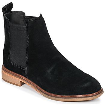 Παπούτσια Γυναίκα Μπότες Clarks CLARKDALE Μαυρο / Sde