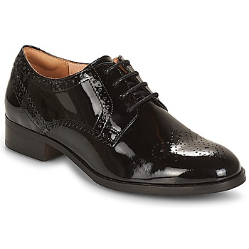 Παπούτσια Γυναίκα Derby Clarks Netley Rose Μαυρο / Pat