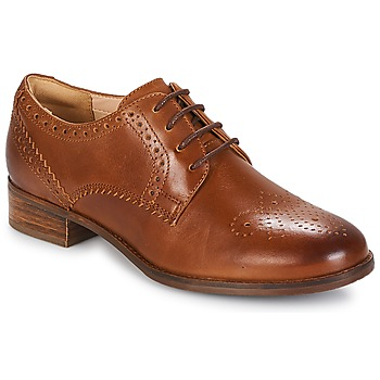 Παπούτσια Γυναίκα Derby Clarks Netley Rose Tan / Leather