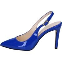 Παπούτσια Γυναίκα Σανδάλια / Πέδιλα Olga Rubini sandali blu vernice BY285 blu