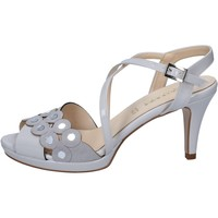Παπούτσια Γυναίκα Σανδάλια / Πέδιλα Olga Rubini sandali grigio vernice camoscio BY358 Grigio
