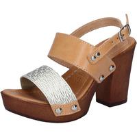 Παπούτσια Γυναίκα Σανδάλια / Πέδιλα Made In Italia BY516 Ασήμι