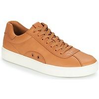 Παπούτσια Άνδρας Χαμηλά Sneakers Polo Ralph Lauren COURT 100 Brown