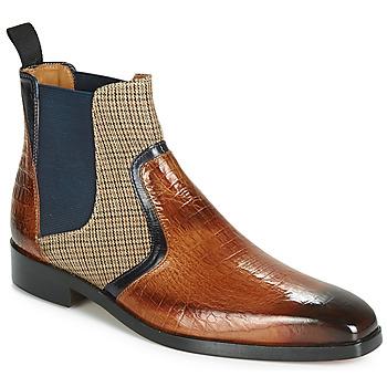 Παπούτσια Άνδρας Μπότες Melvin & Hamilton LEWIS 26 Brown / Marine