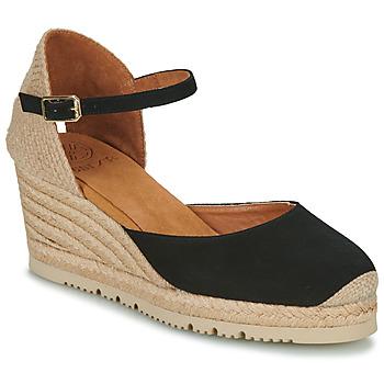 Παπούτσια Γυναίκα Σανδάλια / Πέδιλα Unisa CACERES Black