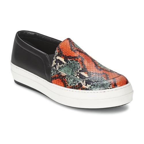 Παπούτσια Γυναίκα Slip on McQ Alexander McQueen DAZE Black / Multicolour