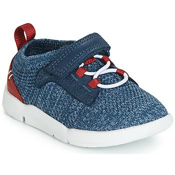 Παπούτσια Αγόρι Χαμηλά Sneakers Clarks Tri Hero Mπλε / Combi