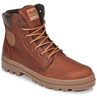 Παπούτσια Άνδρας Μπότες Palladium PALLABOSSE SC WP Brown