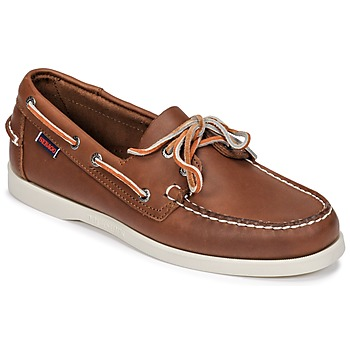 Παπούτσια Άνδρας Boat shoes Sebago DOCKSIDES FGL Brown
