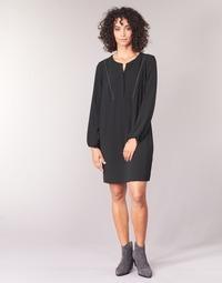 Υφασμάτινα Γυναίκα Κοντά Φορέματα Ikks BURRI Black