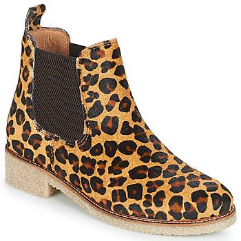 Παπούτσια Γυναίκα Μπότες Bensimon BOOTS CREPE Leopard