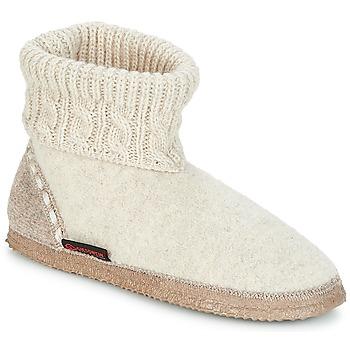 Παπούτσια Γυναίκα Παντόφλες Giesswein FREIBURG Beige