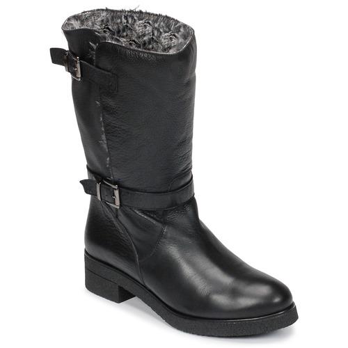 Παπούτσια Γυναίκα Μπότες Unisa DALI Black