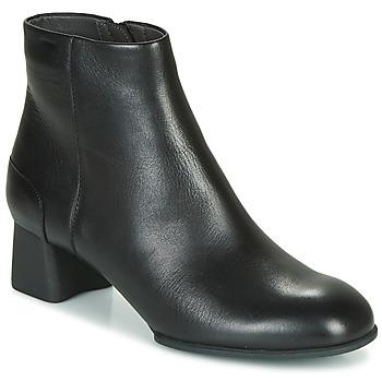Παπούτσια Γυναίκα Μποτίνια Camper KATIE Μαυρο