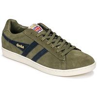 Παπούτσια Άνδρας Χαμηλά Sneakers Gola Equipe Suede Kaki / Marine