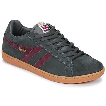 Παπούτσια Άνδρας Χαμηλά Sneakers Gola Equipe Suede Grey / Bordeaux