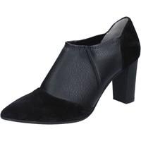 Παπούτσια Γυναίκα Μποτίνια Le Marrine BY732 Μαύρος