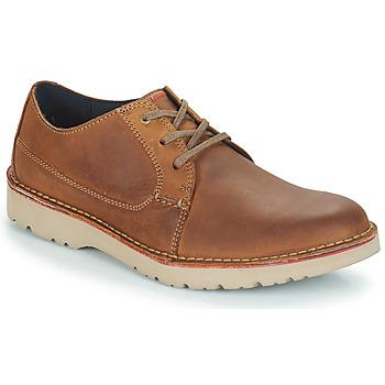 Παπούτσια Άνδρας Derby Clarks VARGO PLAIN Brown