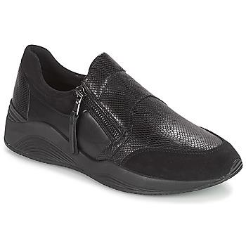 Παπούτσια Γυναίκα Χαμηλά Sneakers Geox D OMAYA Black