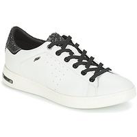 Παπούτσια Γυναίκα Χαμηλά Sneakers Geox JAYSEN Άσπρο / Silver