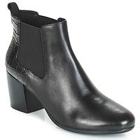 Παπούτσια Γυναίκα Μποτίνια Geox D NEW LUCINDA Black