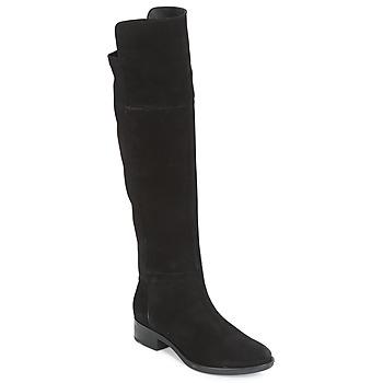 Παπούτσια Γυναίκα Ψηλές μπότες Geox D FELICITY Black