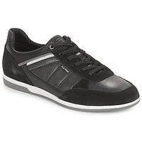 Παπούτσια Άνδρας Χαμηλά Sneakers Geox U RENAN Black