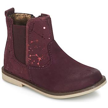 Παπούτσια Κορίτσι Μπότες Kickers MOON Bordeaux