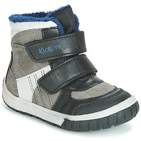 Παπούτσια Παιδί Snow boots Kickers SITROUILLE WPF Black / Grey