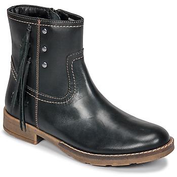 Παπούτσια Κορίτσι Μπότες για την πόλη Kickers MOLLY Black