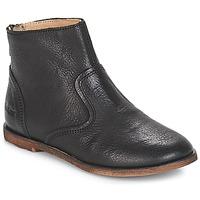 Παπούτσια Κορίτσι Μπότες για την πόλη Kickers ROXANNA Black