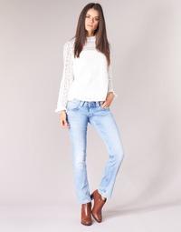 Υφασμάτινα Γυναίκα Τζιν σε ίσια γραμμή Pepe jeans VENUS Μπλέ /  clair