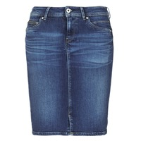 Υφασμάτινα Γυναίκα Φούστες Pepe jeans TAYLOR Μπλέ / Medium
