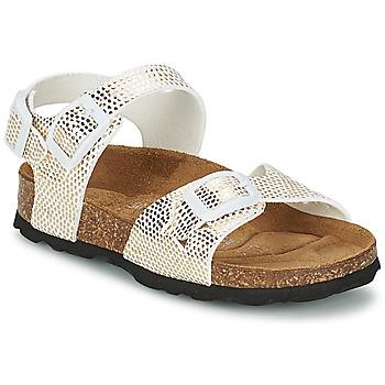 Παπούτσια Κορίτσι Σανδάλια / Πέδιλα Betula Original Betula Fussbett JEAN Python / Dore