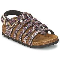 Παπούτσια Κορίτσι Σανδάλια / Πέδιλα Betula Original Betula Fussbett LEONA Ροζ / Multicolore
