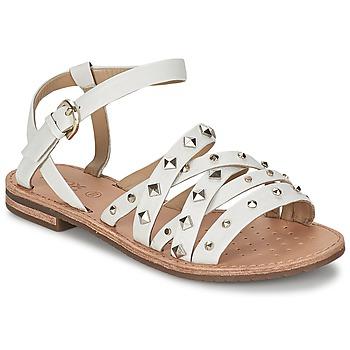 Παπούτσια Γυναίκα Σανδάλια / Πέδιλα Geox JOLANDA E άσπρο