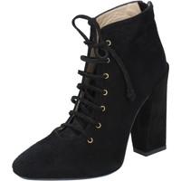 Παπούτσια Γυναίκα Μποτίνια Gianni Marra BY757 Μαύρος