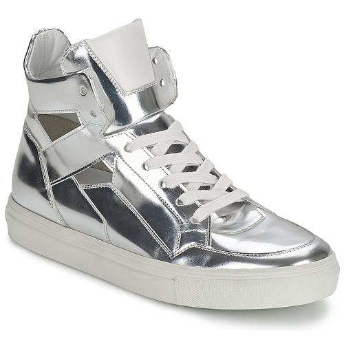 Παπούτσια Γυναίκα Ψηλά Sneakers Kennel + Schmenger TONIA Argenté