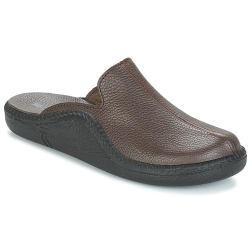 Παπούτσια Άνδρας Παντόφλες Romika MOKASSO 202 G Brown