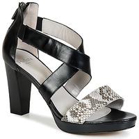 Παπούτσια Γυναίκα Σανδάλια / Πέδιλα Perlato IREGUA Black / Python